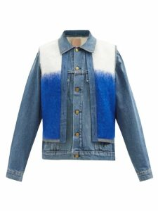 Gucci - Gg Marmont Mini Quilted Velvet Cross Body Bag - Womens - Purple