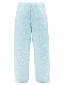 Gucci - Gg Marmont Mini Quilted Velvet Cross Body Bag - Womens - Red