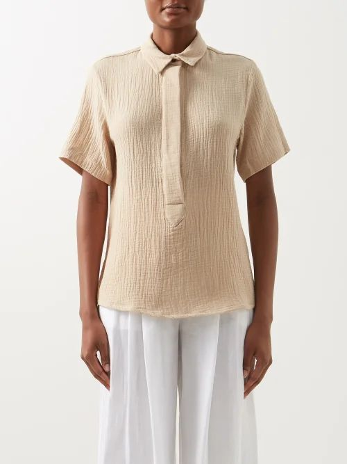 Borgo De Nor - Carlotta Crepe Maxi Dress - Womens - Pink Print