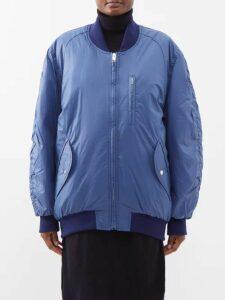 Erdem - Jyoti Mariko Meadow Jacquard Dress - Womens - Blue Print