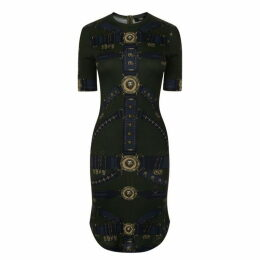 Versus Versace Printed Midi Dress