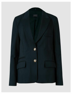 M&S Collection Ponte Single Breasted Blazer