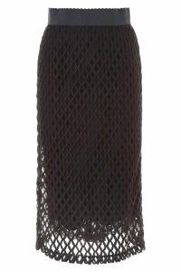 Dolce & Gabbana Fishnet Skirt