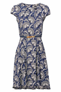 Izabel London Damask Tea Dress