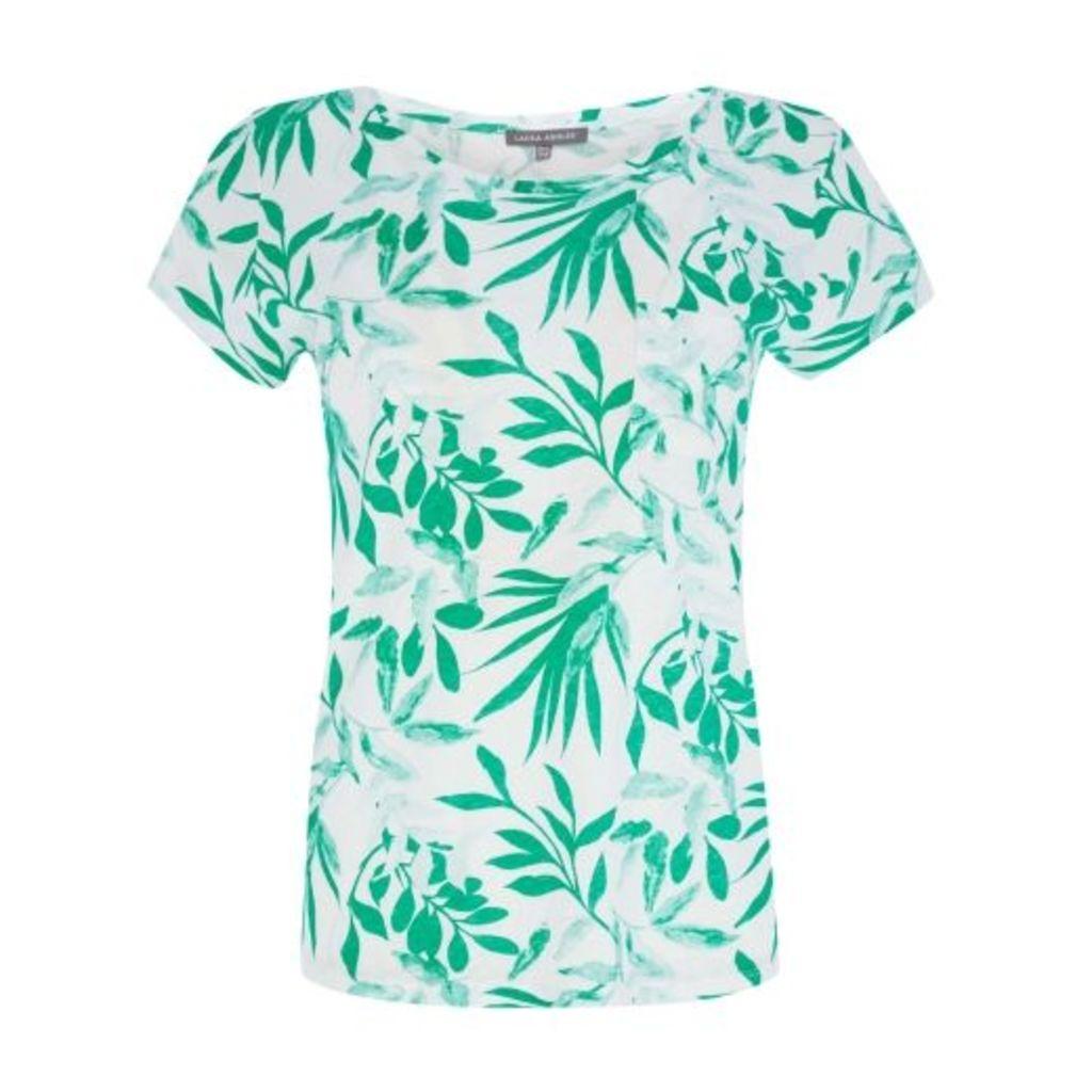 Green Mono Tropical TeeShirt