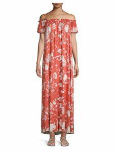 Ossiane Printed Maxi Dress