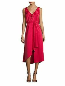 Maudie Drape Midi Dress