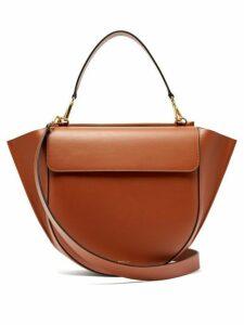 Wandler - Hortensia Large Leather Shoulder Bag - Womens - Tan