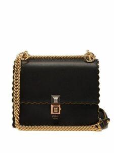 Fendi - Kan I Small Leather Cross Body Bag - Womens - Black