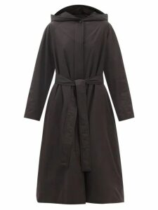 Mansur Gavriel - Triangle Calf Leather Tote - Womens - Navy