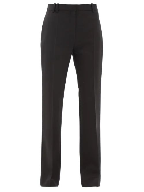 Mansur Gavriel - Triangle Leather Tote - Womens - Red