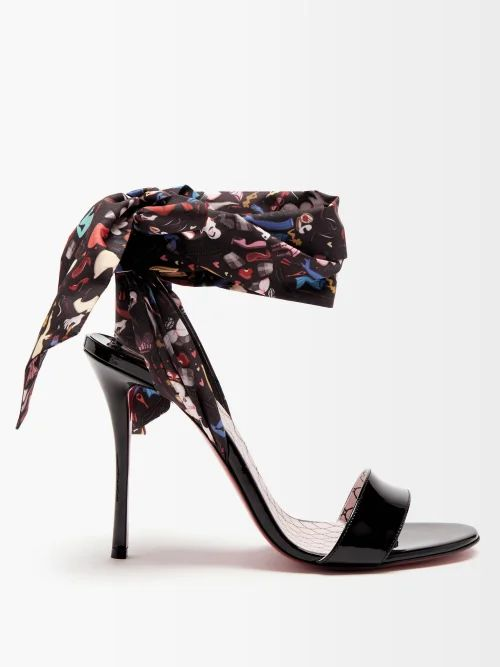Fendi - Shearling Trimmed Checked Wool Coat - Womens - Red Multi