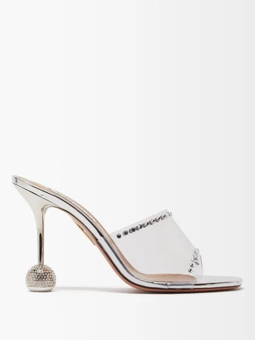 Preen By Thornton Bregazzi - Martine Asymmetric Smocked Tulle Top - Womens - Black Multi