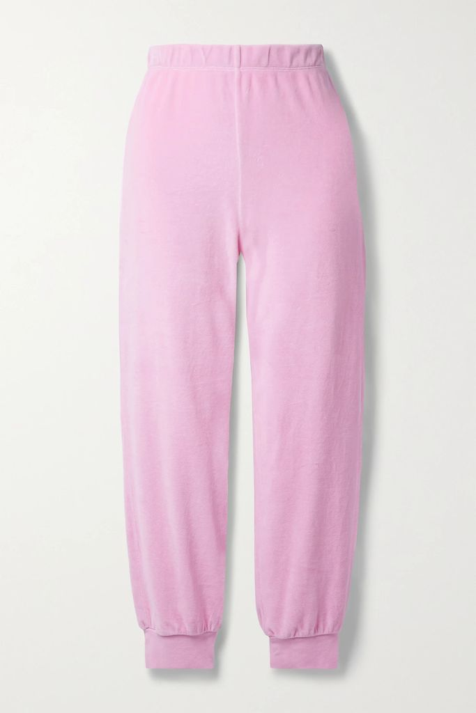 See By Chloé - Hana Medium Textured-leather And Suede Shoulder Bag - Black
