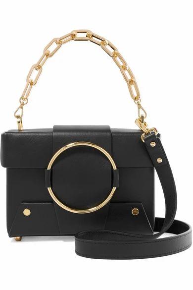 Yuzefi - Asher Small Leather Shoulder Bag - Black
