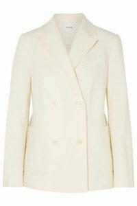 FRAME - Linen-blend Blazer - White