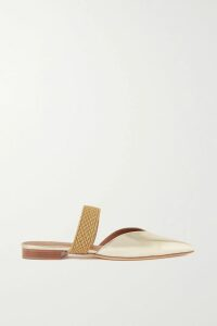 Burberry - Checked Wool Blazer - Burgundy