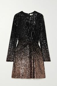 Stella McCartney - Tiered Tulle-trimmed Cady Skirt - Black