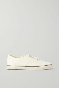 STAUD - Alice Tie-front Striped Stretch-cotton Poplin Dress - Pink