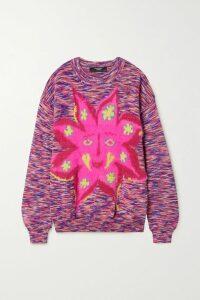 Erdem - Mina Floral-jacquard Midi Skirt - White