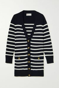 By Malene Birger - Okka Pleated Printed Chiffon Midi Skirt - Black