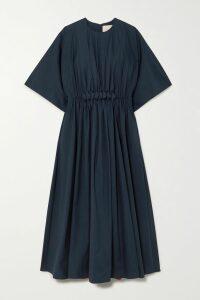 Balenciaga - Cotton-twill And Denim Coat - Off-white
