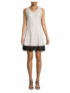 Floral Fit-&-Flare Dress