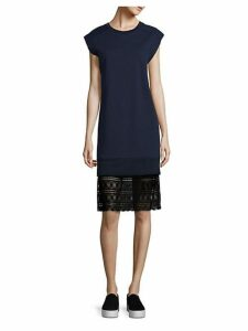 Tesa French Terry Cotton Dress