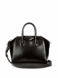 Givenchy - Antigona Mini Leather Cross Body Bag - Womens - Black