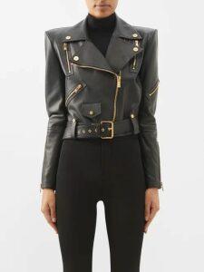 Erdem - Ceren Floral Matelassé Gown - Womens - Black Print