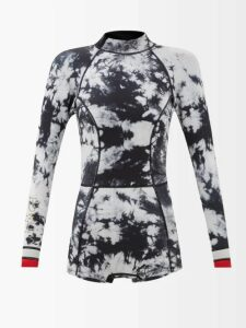 Erdem - Karissa Mariko Meadow Print Cotton Shirtdress - Womens - Blue Print