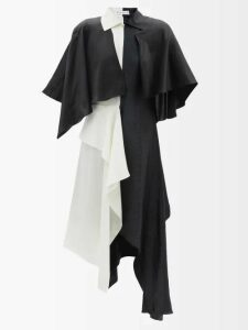 Lisa Marie Fernandez - Embroidered Eyelet Cotton Midi Skirt - Womens - White Multi