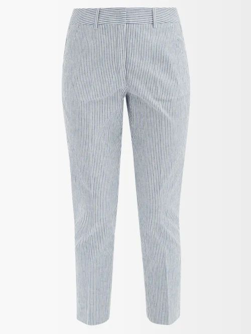 Gucci - Gg Marmont Small Quilted Velvet Shoulder Bag - Womens - Green