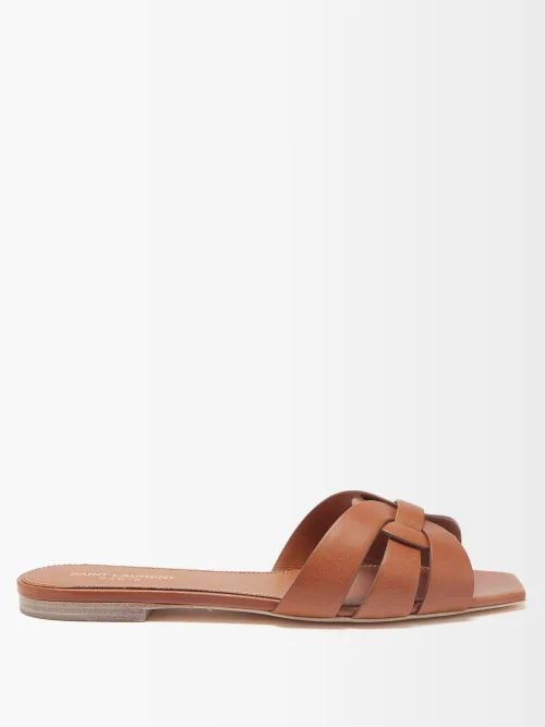 Valentino - Polka Dot Silk Georgette Dress - Womens - White Black