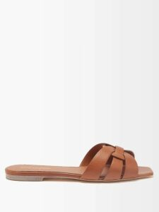 Valentino - Polka Dot Silk Georgette Dress - Womens - White Black