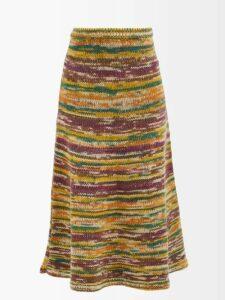 Christopher Kane - Ruffled Lace Short Dress - Womens - Black