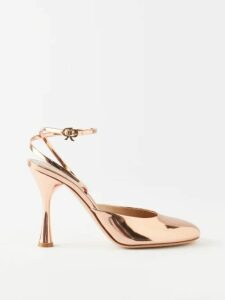 Zimmermann - Bayou Cotton And Silk Blend Trousers - Womens - Nude