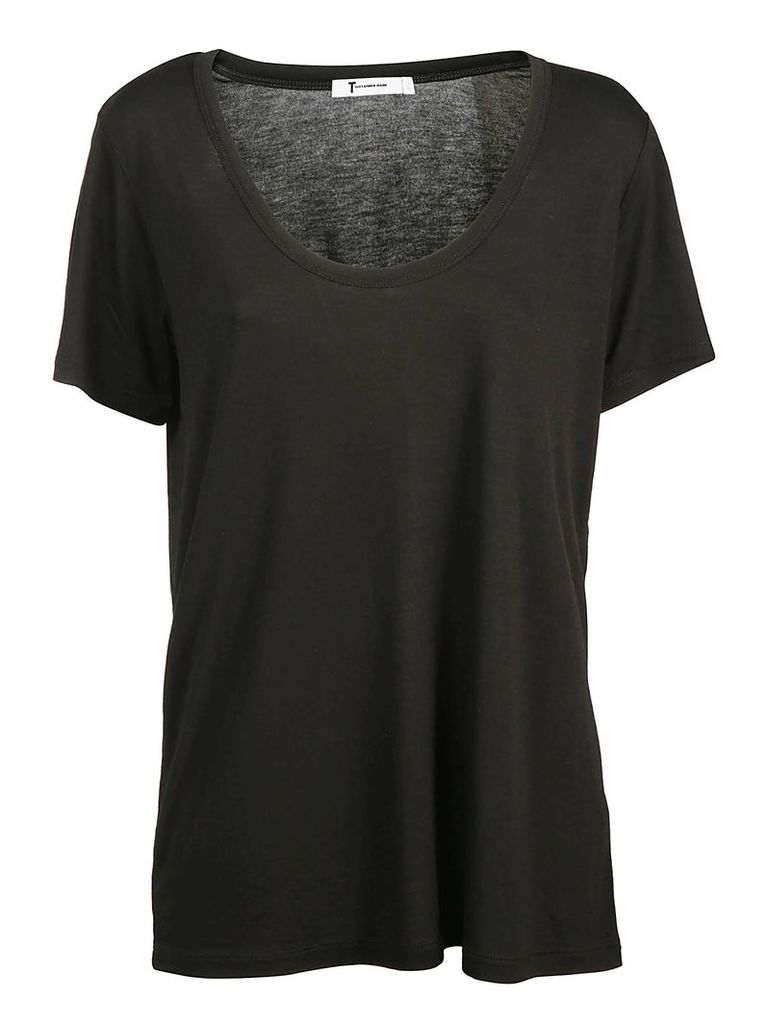 Alexander Wang Draped Jersey T-shirt