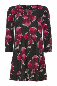 Floral Wooly Touch Tunic