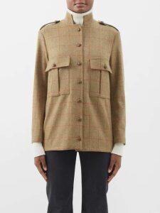 Preen Line - Salome Drop Waist Silk Georgette Dress - Womens - Pink