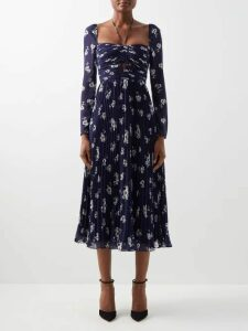 Andrew Gn - Full Silk Organza Skirt - Womens - Light Pink
