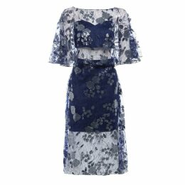 Sarvin - Doutzen Embroidered Lace Co-ord Midi Dress