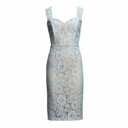 MATSOUR'I - Shift Dress Bridgete Blue