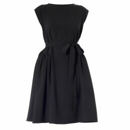 Sarvin - Gwyneth Ivory Embroidered Cut Out Dress