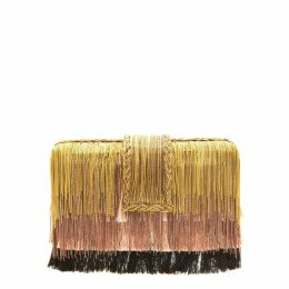 Nissa - Clos Dress With Floral Brocade