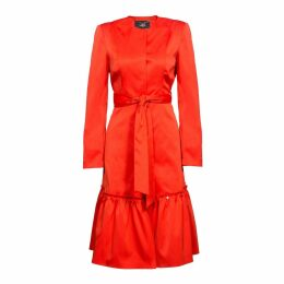 Nissa - Elegant Trench Coat With Waist Belt
