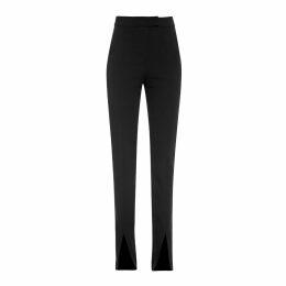 S I O B H A N M O L L O Y - Black Fashion Is Not Fancy Fly-Away Sleeve T-Shirt
