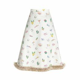 HATHAIRAT - Limited Edition Bon Voyage Print Skirt
