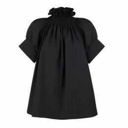 Tomcsanyi - Plants Print Midi Skirt