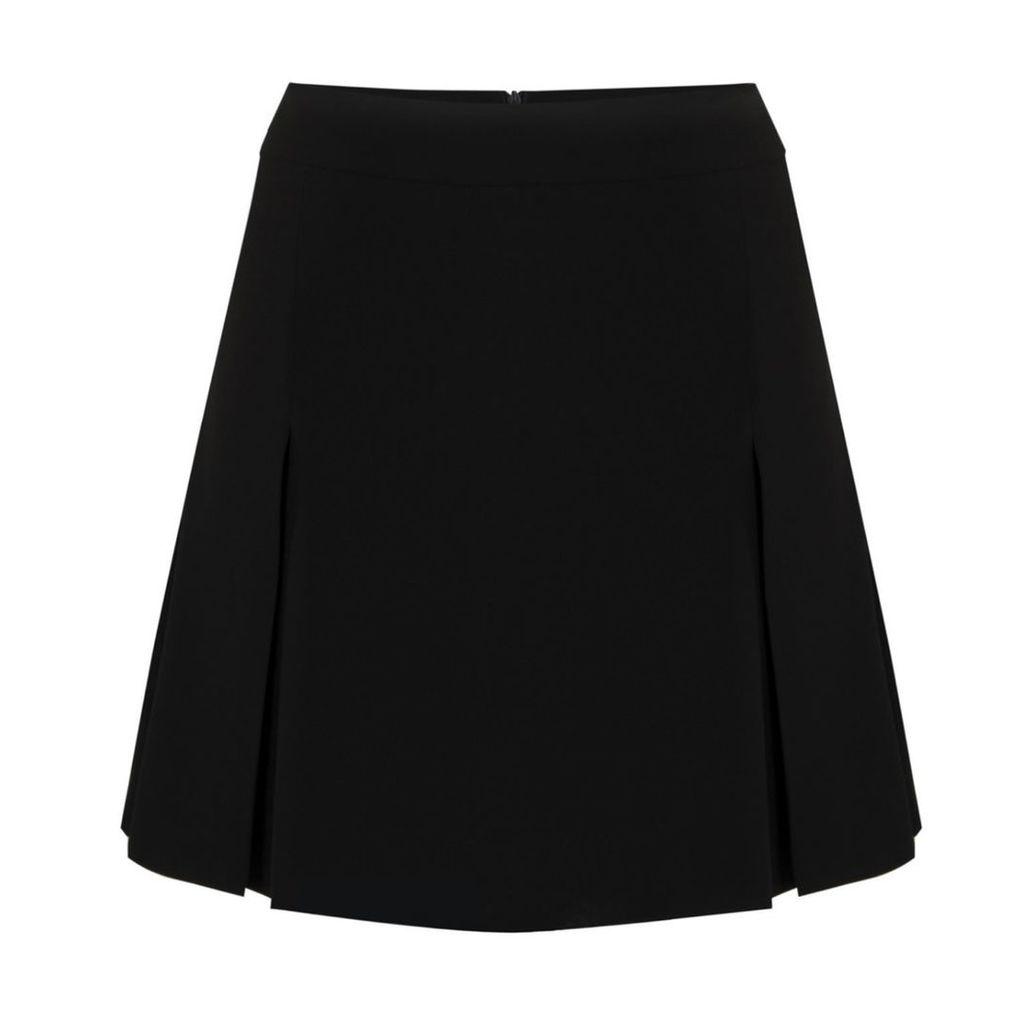 FG Atelier - Black Crepe Skirt